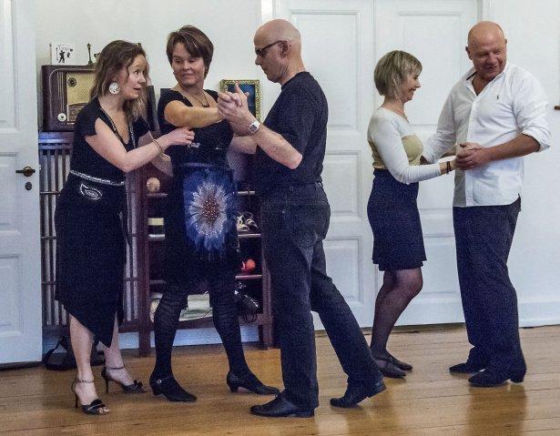 Holdundervisning, argentinsk tango, begynder