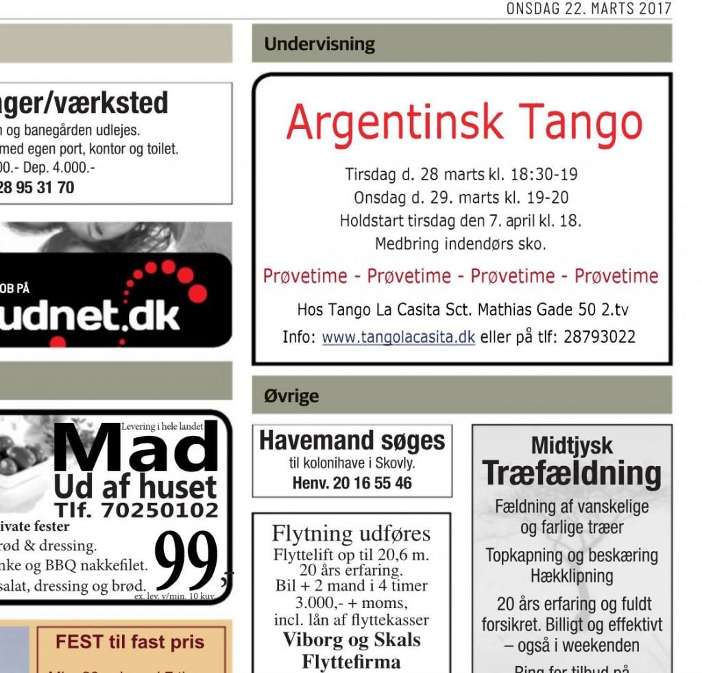 prøvetime, intro, Argentinsk tango, tango la casita, sæson, nye hold, milonga, Viborg
