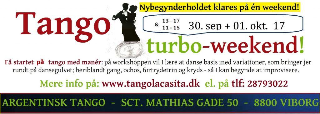Tango turbo weekend, Tango La Casita, argentinsk tango, Viborg, tango, undervisning, dans viborg, milonga, kultur viborg, gavekort, foredrag, show, opvisning, Tango turbo opweekend, Turbo, worksh