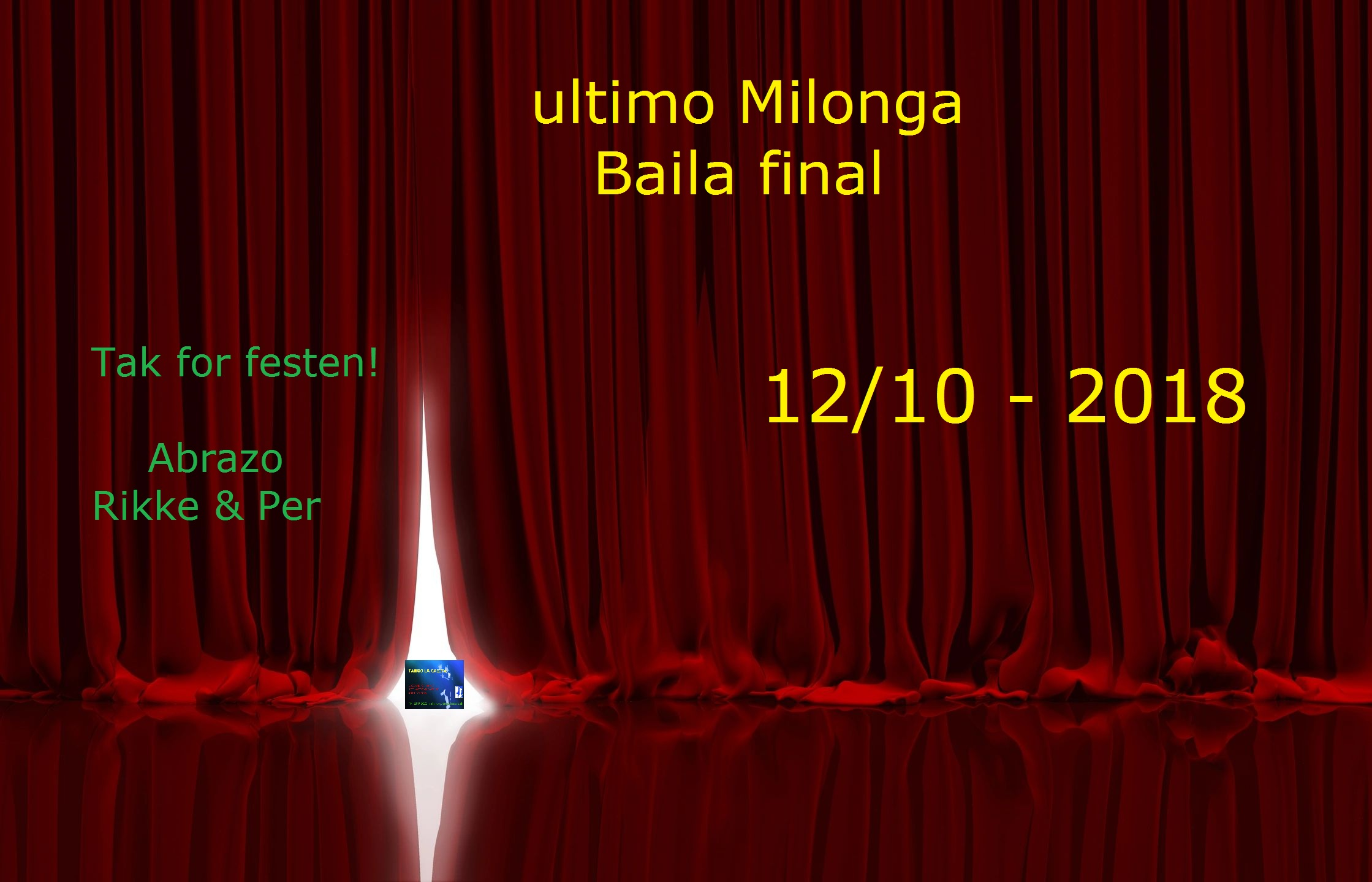 Tango La Casita, milonga, Argentinsk tango, Viborg, dans